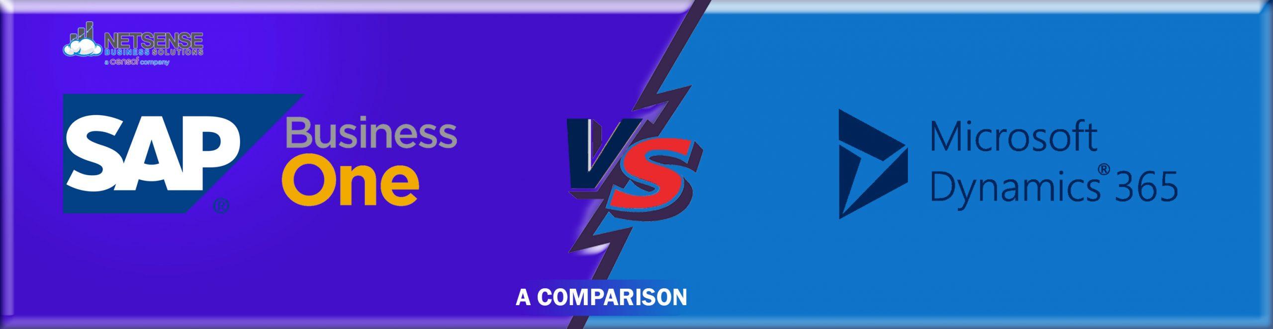 Dynamics 365 vs SAP Business One Comparison