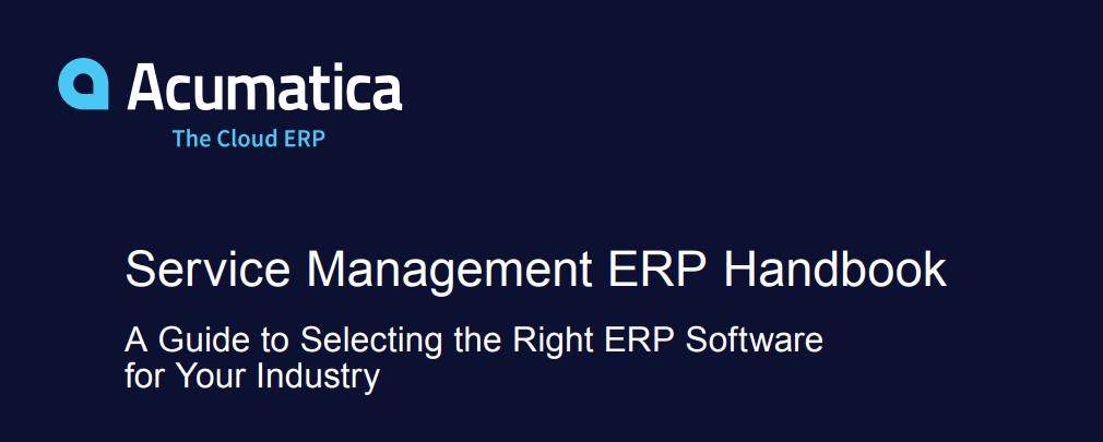 Service ERP Handbook